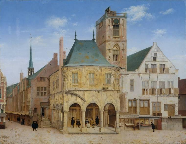 Saenredam_-_Het_oude_stadhuis_te_Amsterdam