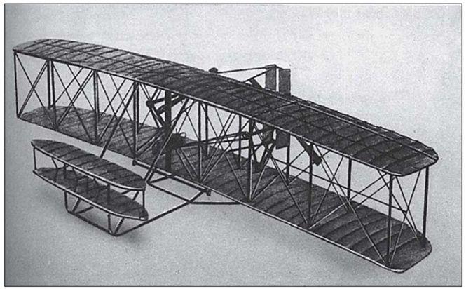Первый-в-истории-авиации-самолет-братьев-Райт-1903-г